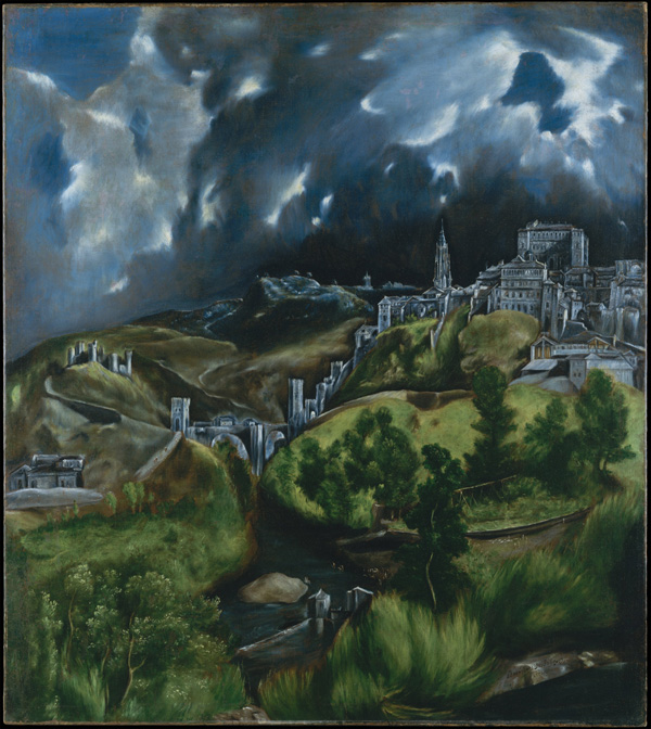 El Greco-View of Toledo-sm