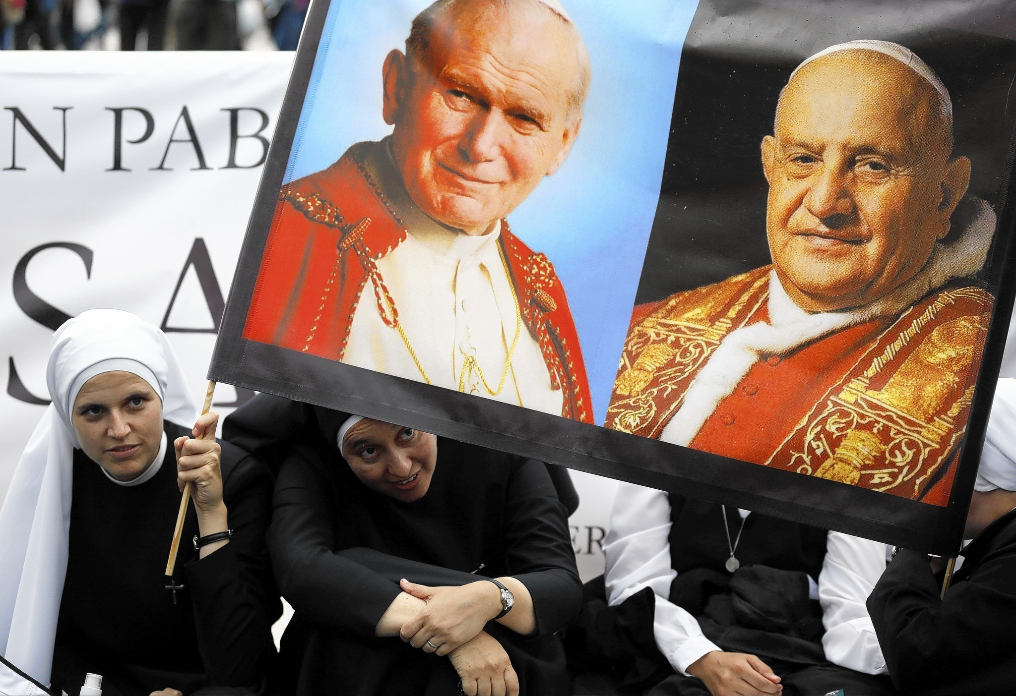 Canonization of Popes John Paul II and John XXIII